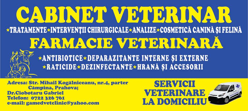 Cabinet Veterinar & Farmacie Veterinara  Campina - Pet Shop