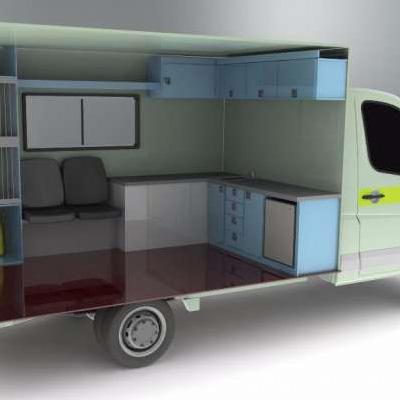 Cabinet Veterinar Mobil